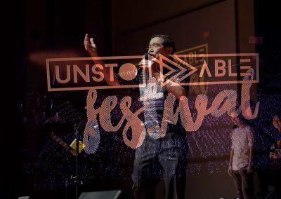 Unstoppable Festival Double exposure