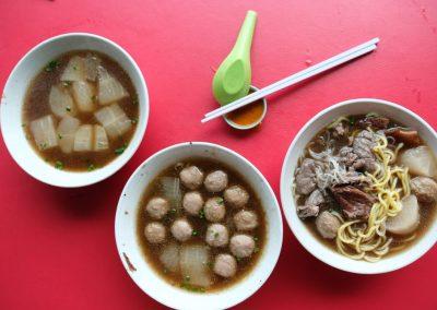 Kota Kinabalu Noodles and Meatballs
