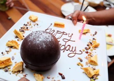 Lava cake birthday