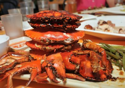 Crabs Stacked