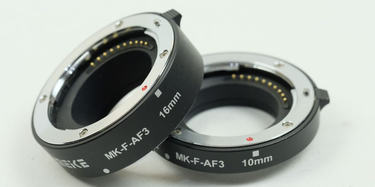 Extension Tubes Meike 10mm & 16mm