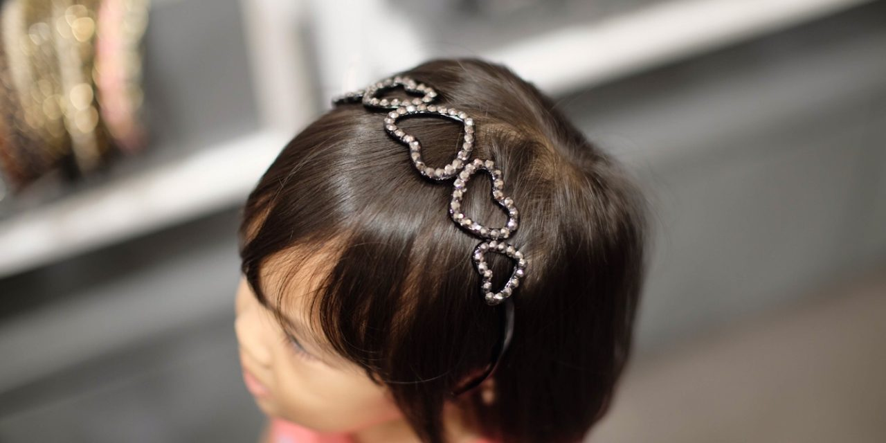 Beautiful Hairband on Hailey