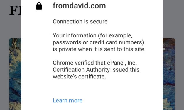 SSL and https