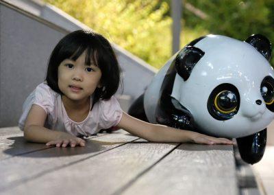 Hailey and Panda