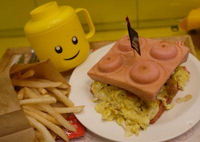 Block burgers dish