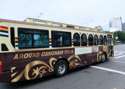 Around Gangnam Bus