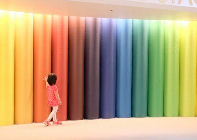 Rainbow stage.