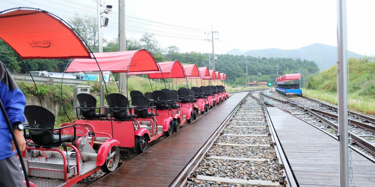 Day 12 : Gangchon Rail Bike
