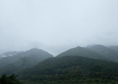 Mountain range that brings prespective...