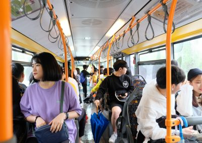 Free shutter bus from normal bus to everland