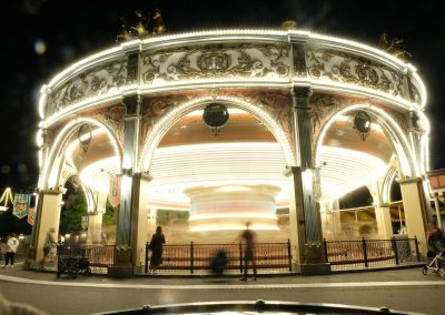 Carousel, while waiting for parade
