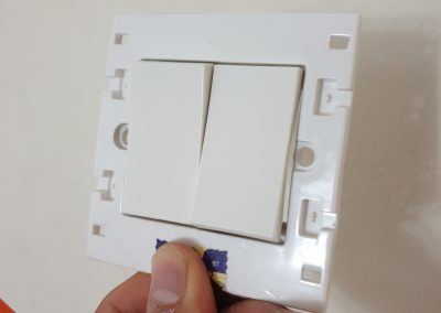 Replaced own light switch