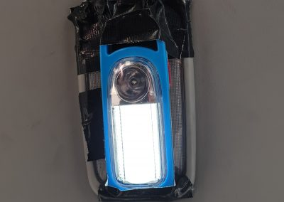 Car lamp drained car battery. This to prevent it again.