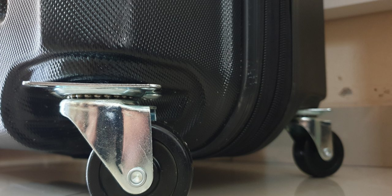 Fixed Suitcase Wheels