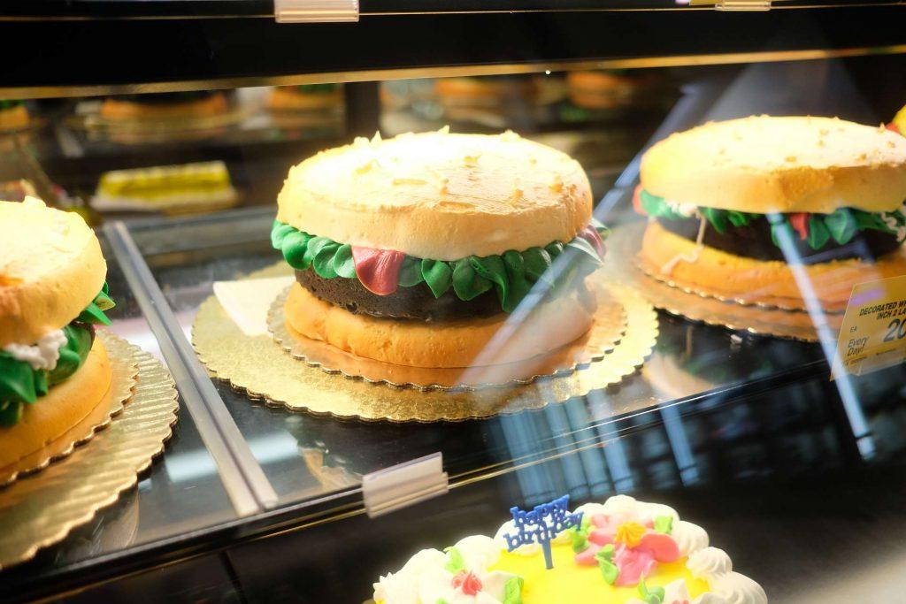 Burger Cake | FromDavid.com
